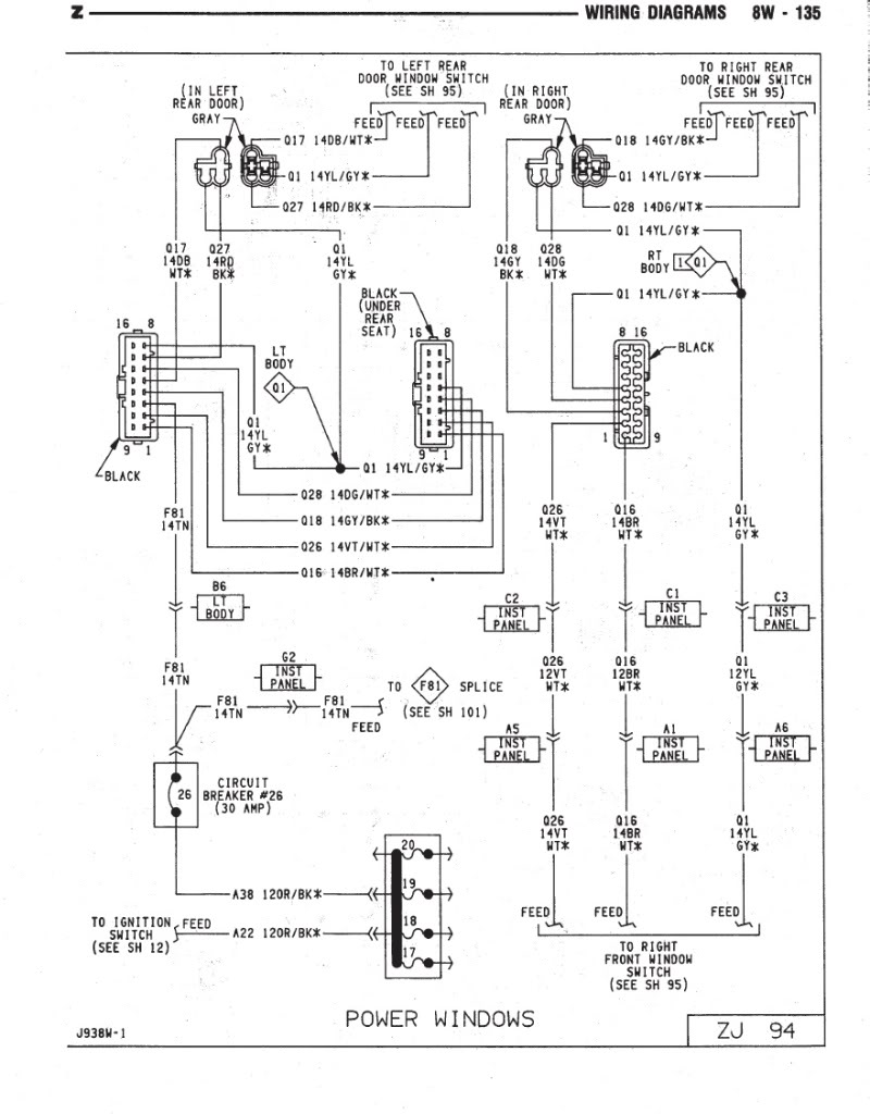 2004 jeep grand cherokee driver door wiring diagram - youthhigh-power  weebly